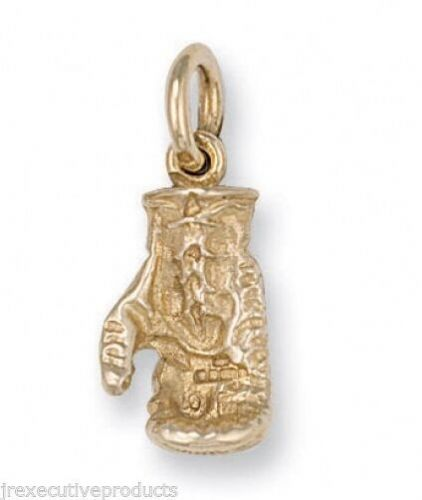Yellow Gold Boxing Glove Pendant Hallmarked British Made 5 grams